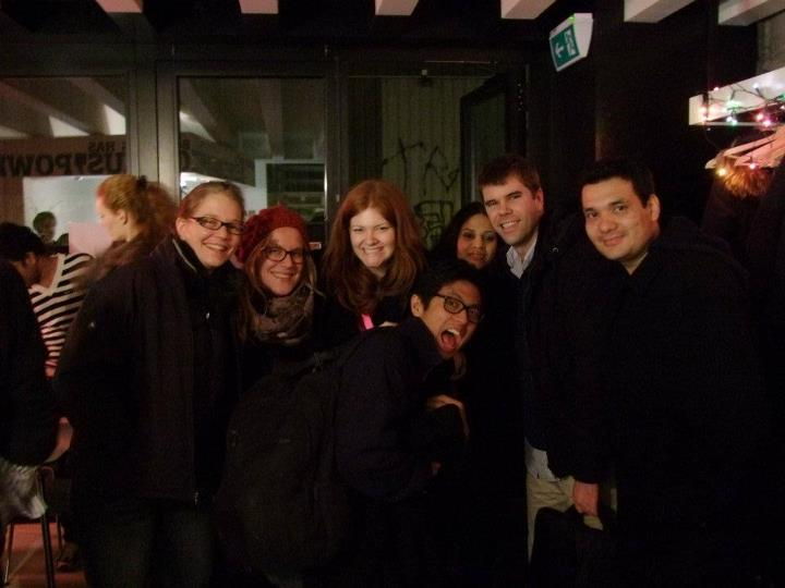 some of the 2012 iCats fellows in Zurich ... brr