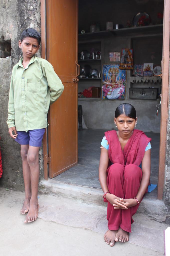 Priyanka and her brother