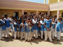 In this residential school (KGBV), 19 out of about 80 girls were enrolled by Educate Girls