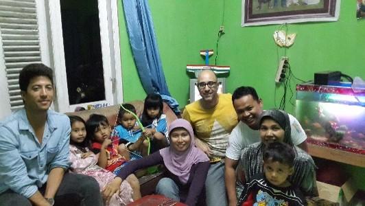 Martin - coconut farmer family