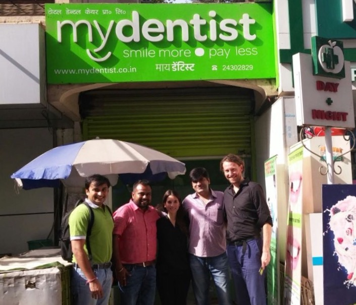 On a clinic visit with the Mydentist and LGT IV teams