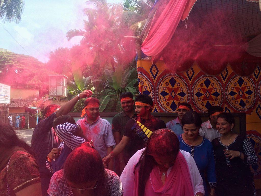 Ganpati Visarjan festivities