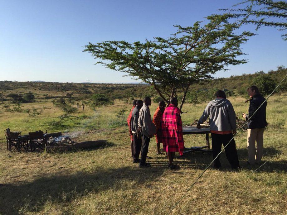 A vegan in the Maasai Mara