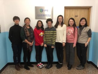 What do you get when you cross an experienced American environmental professional with a young environmental NGO in China?