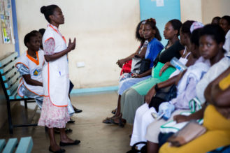 HIV-Positive Mothers working to eradicate pediatric AIDS