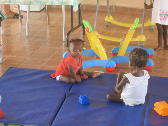 Inspiration from the field: Visiting malnutrition clinics in Haiti